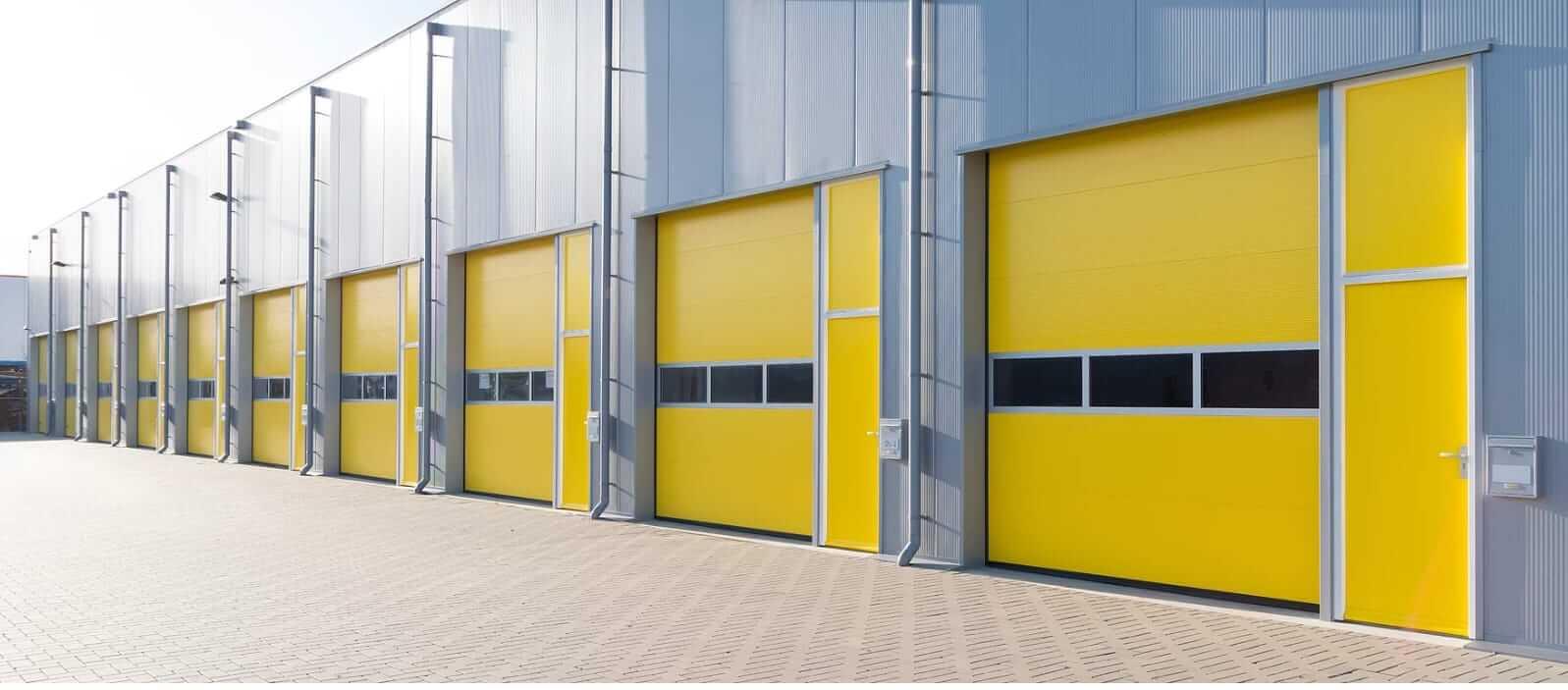Commercial Doors Yellow