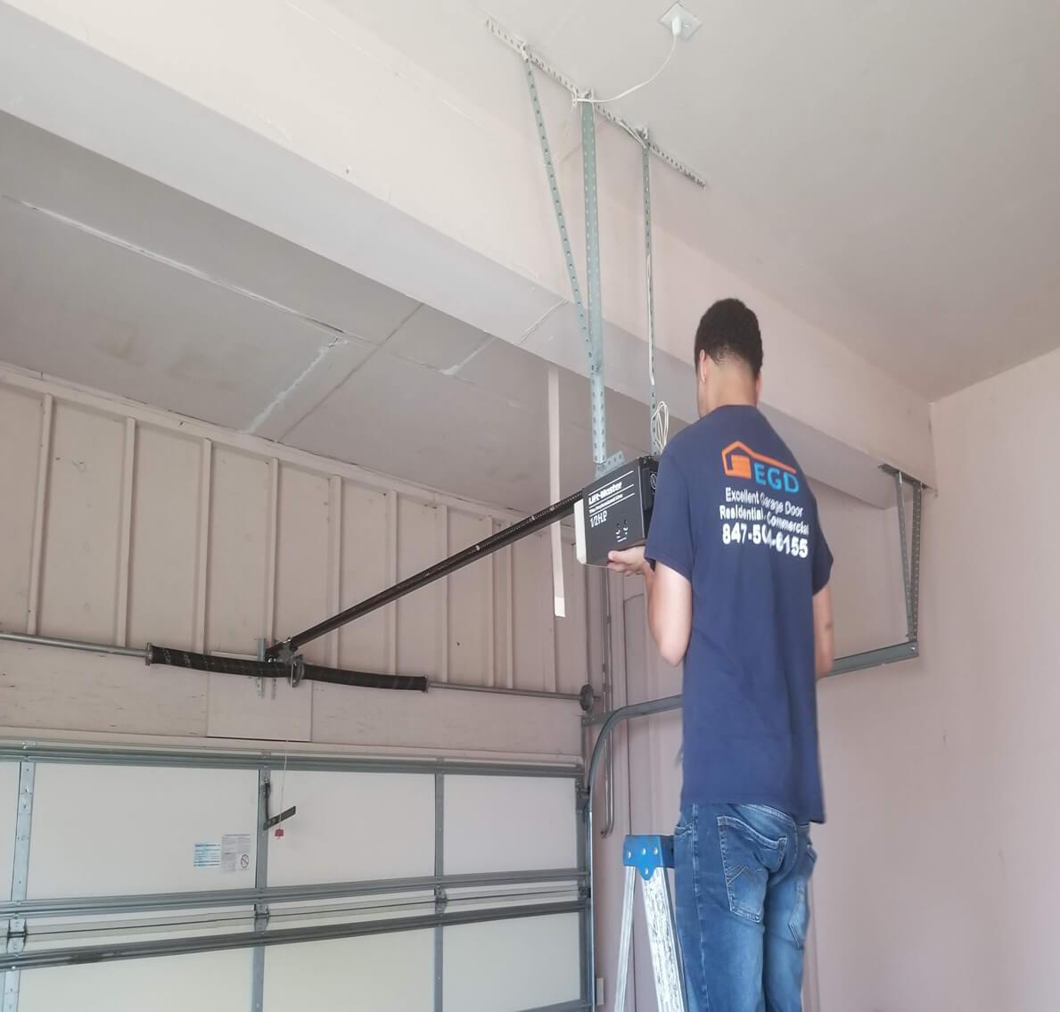 Garage Door Opener Insall