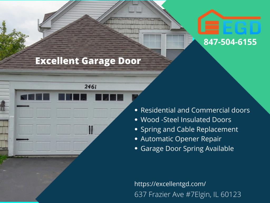 Excellent garage door
