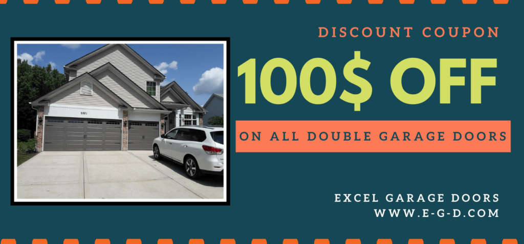 Coupon 100$ Double Door